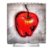 Temptation Apple Shower Curtain