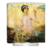 Tempting Sweets 1924 Shower Curtain