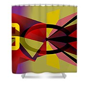 Tempus Fugit II Shower Curtain