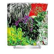 Ten Eleven Fifteen Shower Curtain by Eikoni Images
