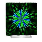 Ten Minute Art 082610-4 Shower Curtain