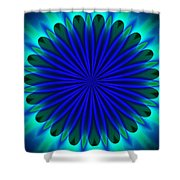 ten minute art 102610B Shower Curtain