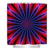 Ten Minute Art 4 Shower Curtain