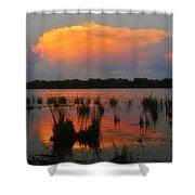 Ten Thousand Islands Florida Shower Curtain