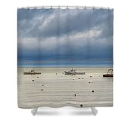 Tenants Harbor Shower Curtain