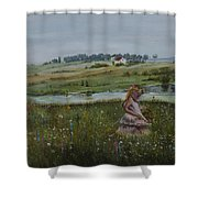 Tender Blossom - Lmj Shower Curtain