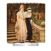 Tender Care Shower Curtain