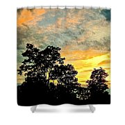 Tender Is The Night 2 Shower Curtain
