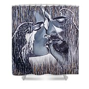 Tenderness And Beauty Shower Curtain
