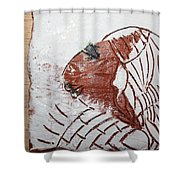 Tendo - Tile Shower Curtain