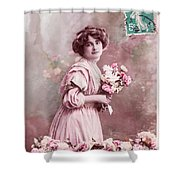 Tendre Affection Shower Curtain