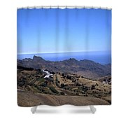 Tenerife II Shower Curtain