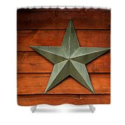 Tenkiller Lone Star Shower Curtain
