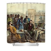 Tenn: Freedmens Bureau Shower Curtain