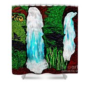 Tenn. State Falls Se Shower Curtain
