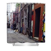 Tennessee Alley Shower Curtain by Joyce Kimble Smith