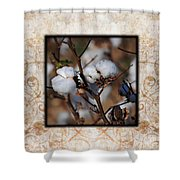 Tennessee Cotton II Photo Square Shower Curtain