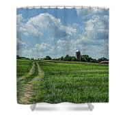 Tennessee Countryside Shower Curtain