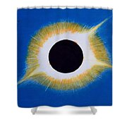 Tennessee Eclipse Shower Curtain