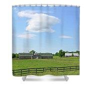 Tennessee Farm Shower Curtain