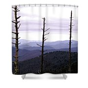 Tennessee Mountains Shower Curtain
