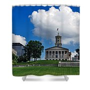 Tennessee State Capitol Nashville Shower Curtain by Susanne Van Hulst
