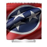 Tennessee State Flag Shower Curtain