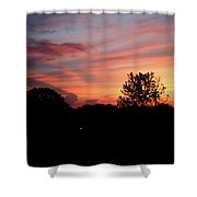 Tennessee Sunset 305 Shower Curtain