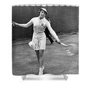 Tennis Star Katherine Stammers Shower Curtain