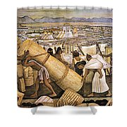 Tenochtitlan (mexico City) Shower Curtain by Granger