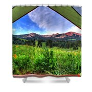 Tent View Shower Curtain