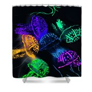 Tentacle Dance  Shower Curtain
