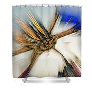 Tentacular Shower Curtain