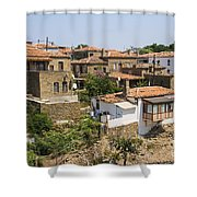 Tepekoy Village Shower Curtain