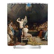 Tepidarium, 1853 Shower Curtain