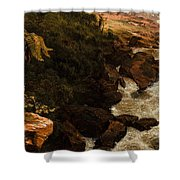 Tequendama Falls Near Bogota Shower Curtain