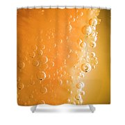 Tequila Sunrise Background Shower Curtain