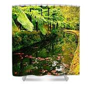 Terra Nostra Park Shower Curtain