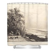 Terrace Of St. Cloud (terrasse De St. Cloud) Shower Curtain