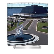 Terrace Point Muskegon Michigan Shower Curtain