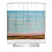 Terraced By Nature Shower Curtain