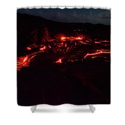 Terraced Flow Shower Curtain