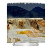 Terraces At Sunset Shower Curtain