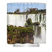 Terraces Of Water Shower Curtain