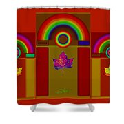 Terracota Classic Shower Curtain