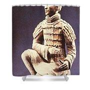 Terracotta Soldier Shower Curtain