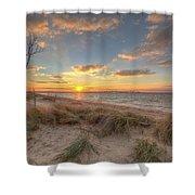 Terrapin Park Sunset Shower Curtain