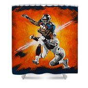Terrell Davis II Shower Curtain
