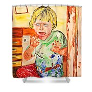 Terry Shower Curtain