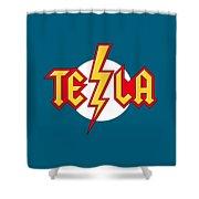 Tesla Bolt Shower Curtain